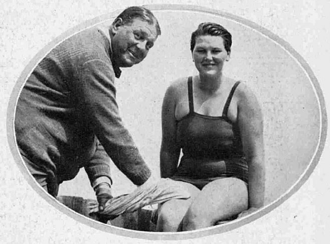 Jabez Wolffe and Elsie West - The Illustrated Sporting and Dramatic News 6/9/1930