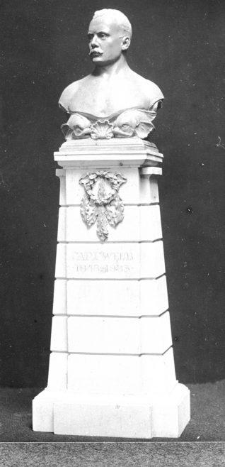 Captain Webb memorial