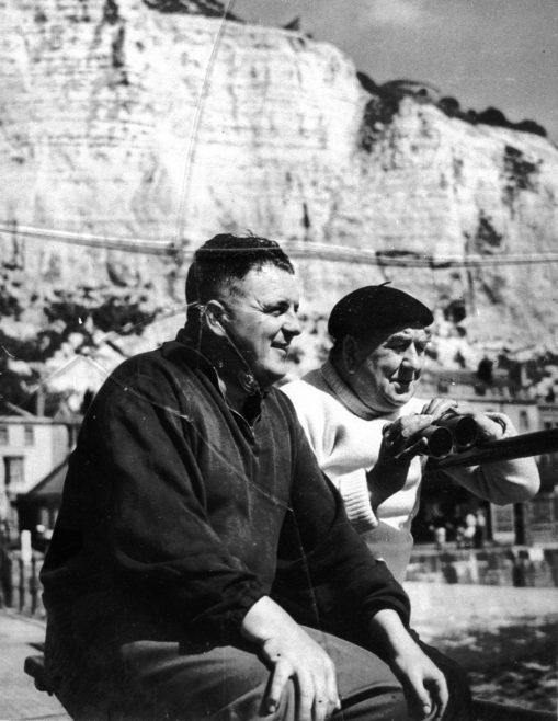 Bill Pickering and Pilot Jack Burwill