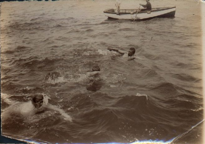 Three channel swimmers