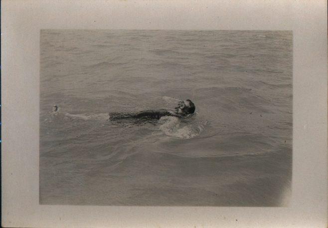Channel Swimmer Monty Holbein