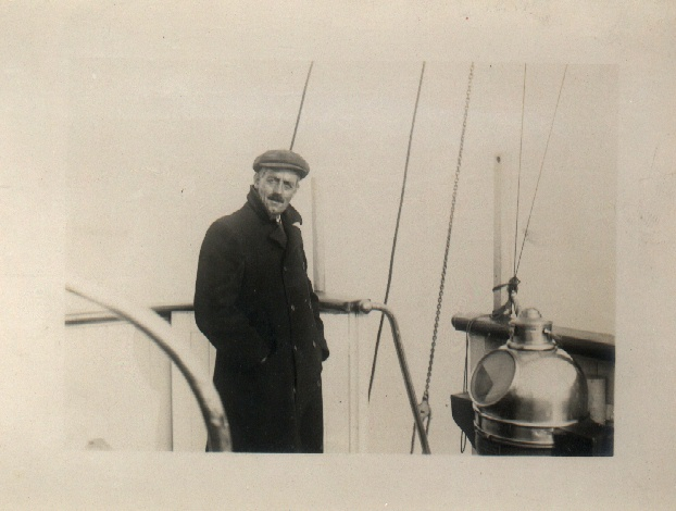 "Captain Payne  of the Tug ""Premier"" (Holbein's pilot)"