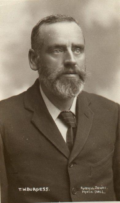 Studio Portrait of T.W. Burgess