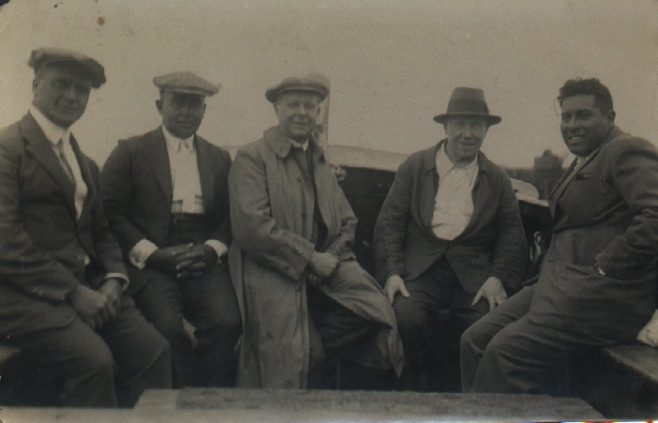 Four Old Channel Swimmers; Richards