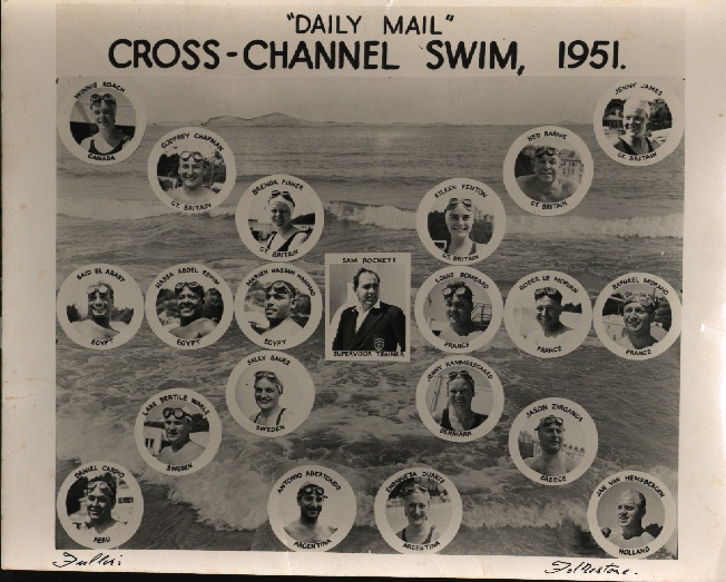 Daily Mail Cross Channel Swim