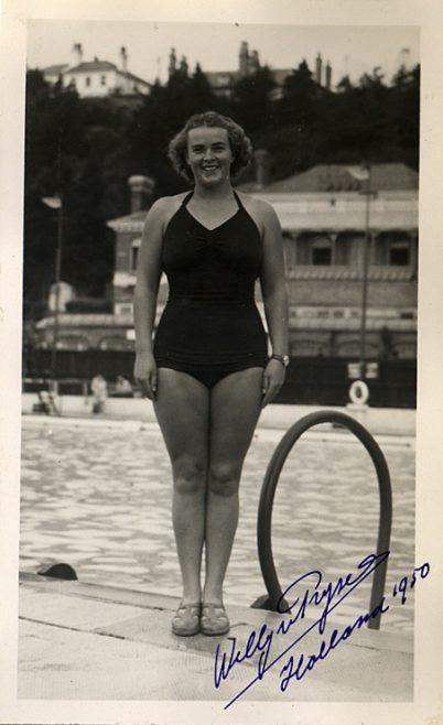 Channel swimmer (Willie) Willy Van Rysel