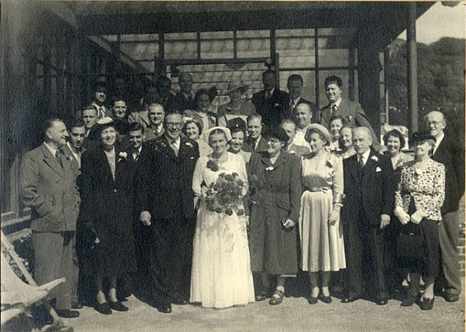 Wedding of Ted Temme & Willie (Willy) Van Rijsel