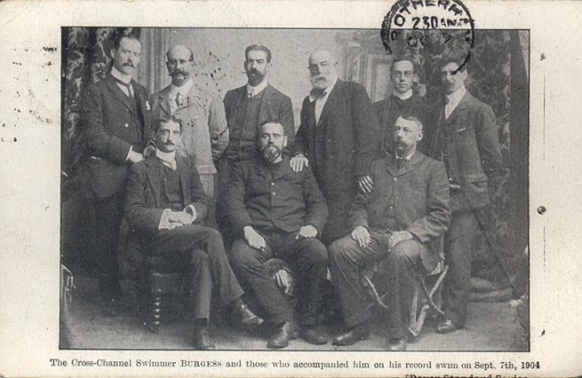 T.W. Burgess and his support team