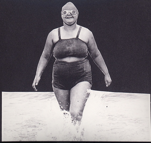 Channel swimmer Sunny Lowry