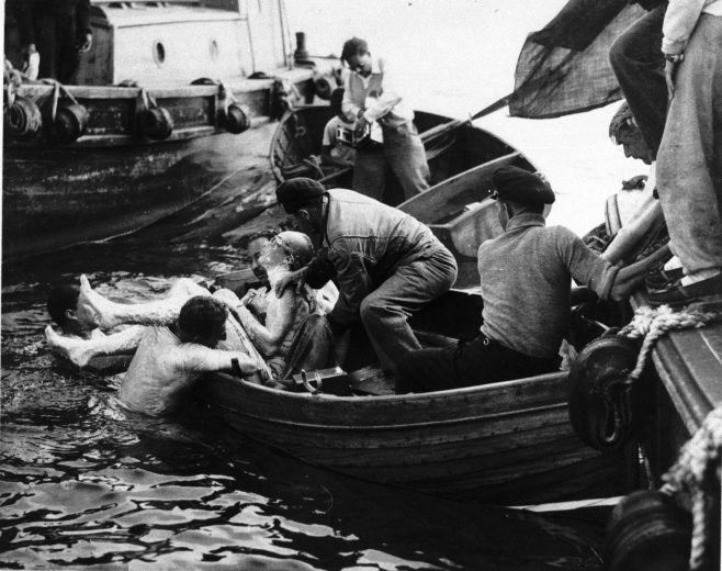 Pulling swimmers out of the water