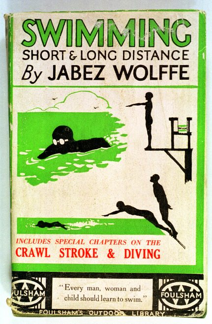 Booklet on swimming by Jabez Wolffe