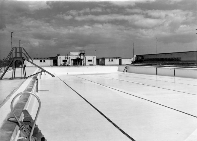 Folkestone Pool- Empty