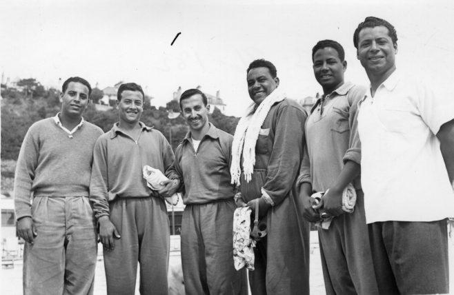 Members of the Egyptian Swim Team 1952.