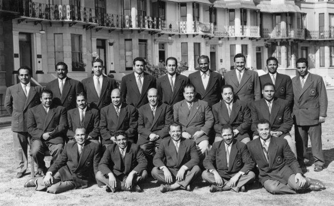 Egyptian Swim Team. 1952