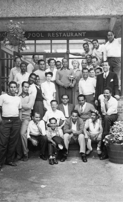Sam Rockett & 1952 Egyptian Channel SwimTeam