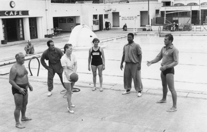 Keep Fit Training at Folkestone pool