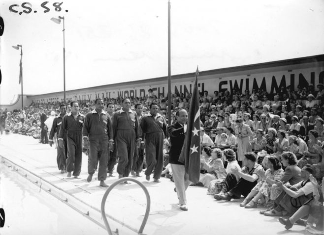 Egyptian Swim Team 1951