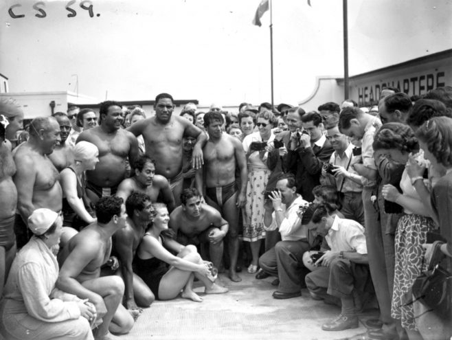 1951 Daily Mail Swimmers