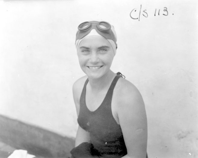 Eileen Fenton of Great Britain