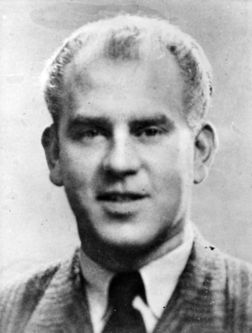 Lars Bertil Warle(Sweden) 1950 Daily Mail Race.