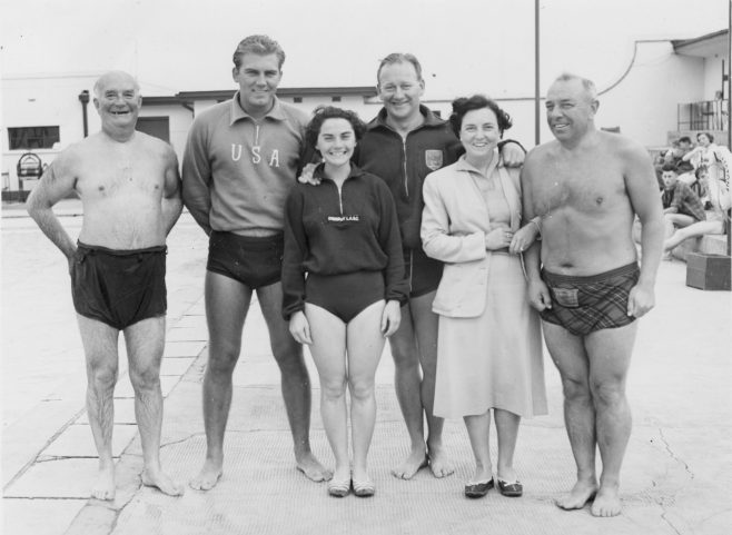 Group of Channel swimmers