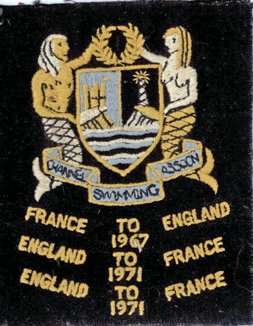 Channel Swim CSA Badge