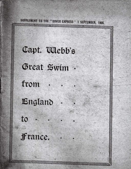 Photocopy of Booklet about Captain Webb's 'Great Swim'