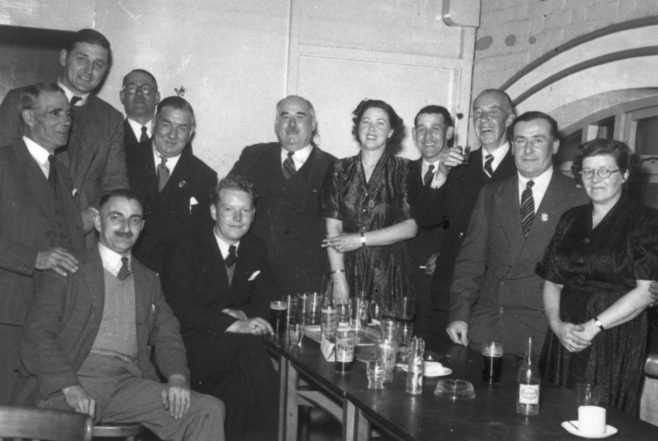 Photograph of a Recreational  Evening, Jack Burwill (unidentified)