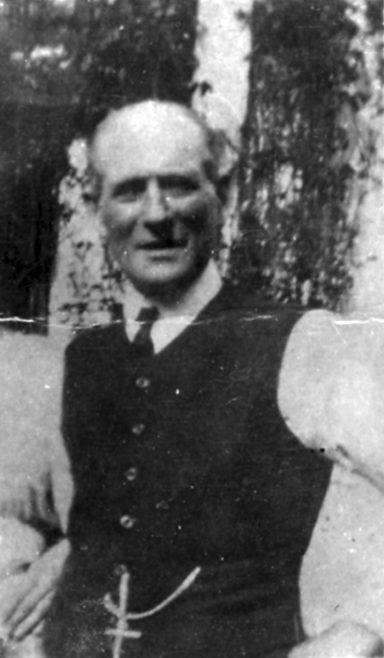 Photograph of a Man (Burwill family?) (unidentified)