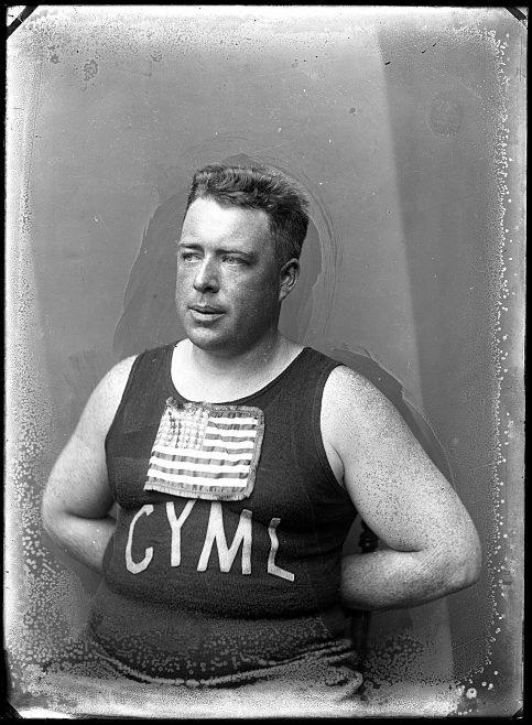 Portrait of channel swimmer, Henry Sullivan, USA