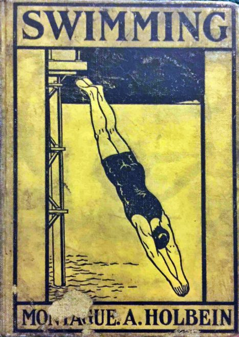 Cover of Holbein's Swimming Book 1903