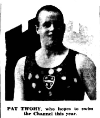 Young Channel Aspirant (detail) - Daily Herald 24/4/1930